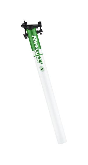 Reverse Style Lite  - Tija de sillín - Ø 30.0 verde/blanco